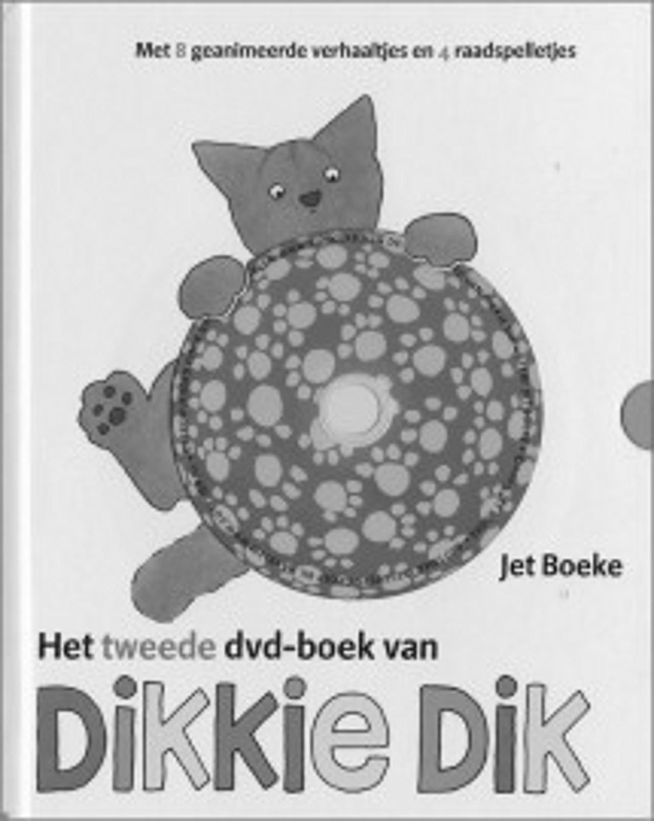 tweede dvd-boek van dikkie dik van jet boeke